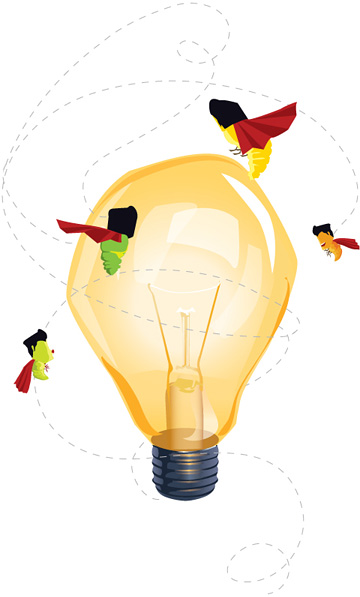 «Idea? Super!»  illustration